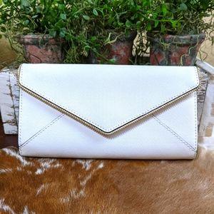 Rebecca Minkoff Leo Saffiano Leather Wallet